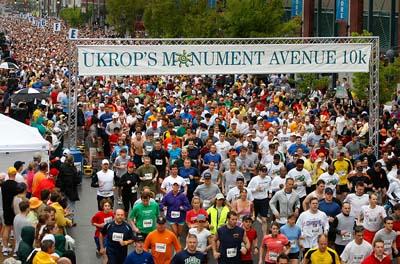 Ukrops 10K Start